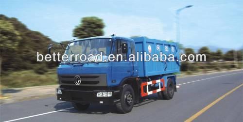 دونغفنغ حاوية 18 cbm شاحنة جمع النفايات