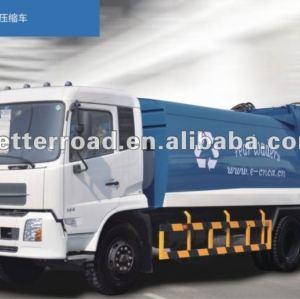 اليد اليمنى 14 cbm شاحنة القمامة الضاغطة، نموذج جديد