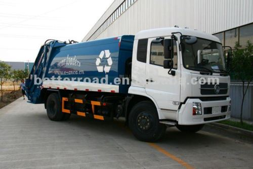 المقود الأيمن شاحنة لجمع القمامة مضغوط، نموذج 2012-2013