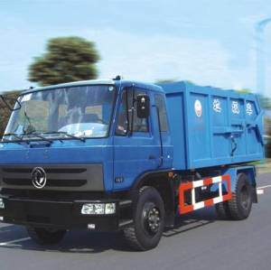 دونغفنغ القمامة شاحنة جمع ونقل 4x4