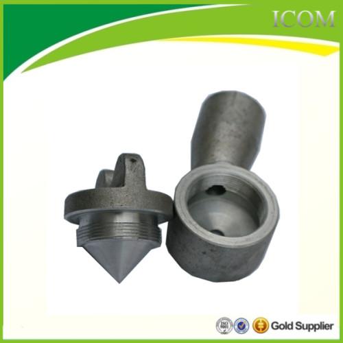 Aluminum nozzle for asphalt distributor