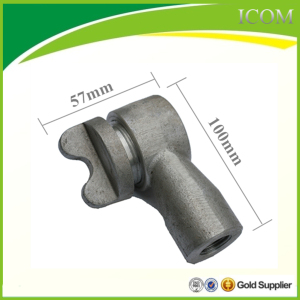 Aluminum nozzle for asphalt distributor