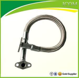 Heat conducting oil hose