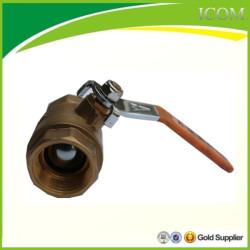 Válvula de esfera de bronze