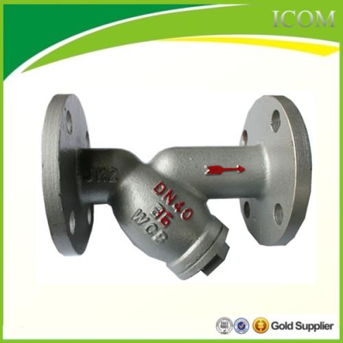Cast steel filter