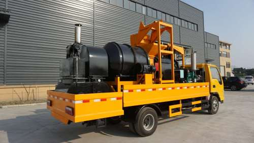 Truck Mounted Asphalt Patch Plant