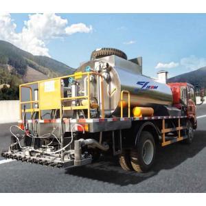 Camión distribuidor de asfalto automático