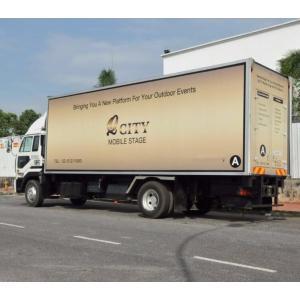 Camión escenario móvil