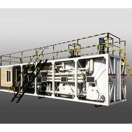 Planta de asfalto modificado con polímeros / SBS