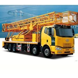 Camion d'inspection de pont