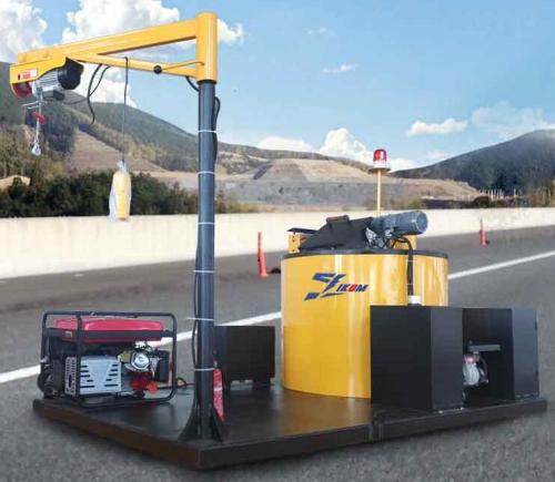 Truck Mounted Crack Sealing Machine