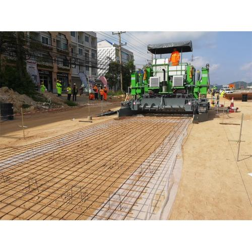 CP8000 Slip-form Concrete Paver performed well in plateau