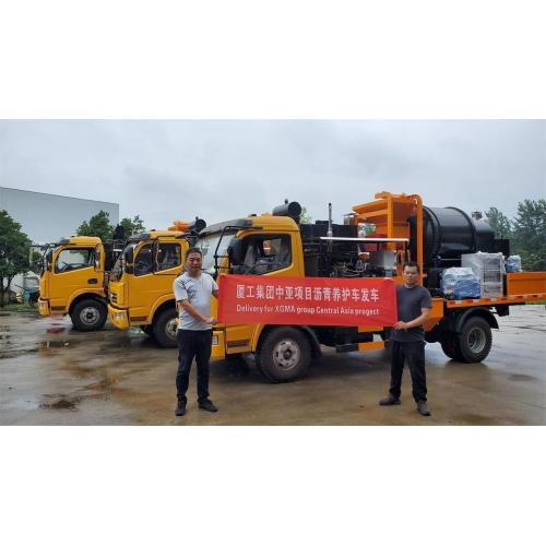 How is new type mobile asphalt patching plant?