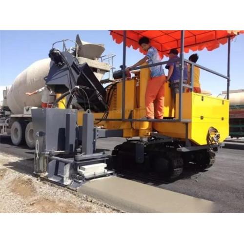 Performance characteristics SMC-5000 slip-form concrete paver