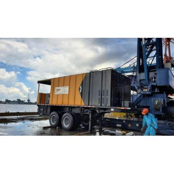 Semi- trailer type Micro surfacing