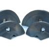 Methods of improving wear resistance of spiral blade