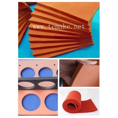 High temperature silicone rubber sponge sheet