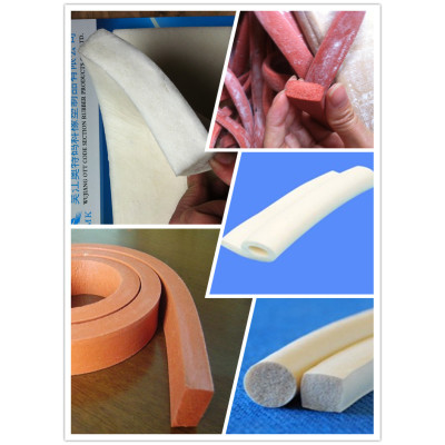 High temperature silicone seal