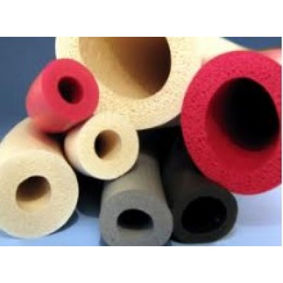 Retardant high temperature silicone foam seal