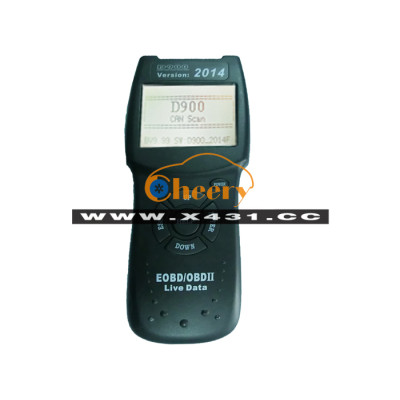 Newest D900 for CANBUS OBDII Scanner BV9.99 2014F