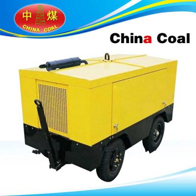 CVFY-12/7 piston air compressor with diesel engine