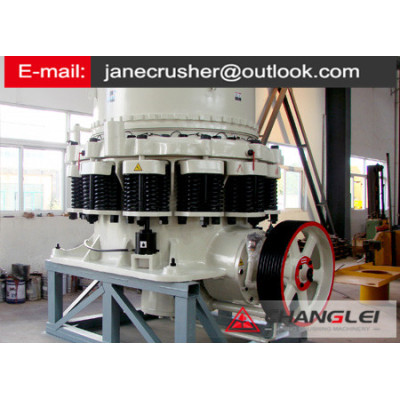 New type of Bauxite hydraulic cone crusher in  Tadjikistan