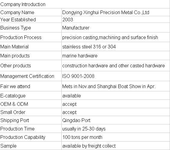 High Quality Stainless Steel 316 Marine Hardware/Rigging Hardware-stainless steel cross tees