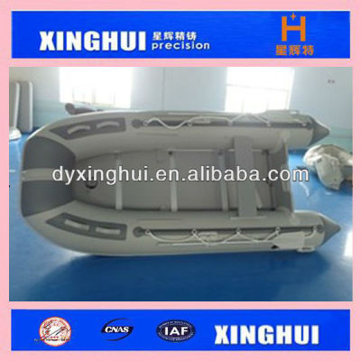 4 persons pvc boat with PLYWOOD FLOORS