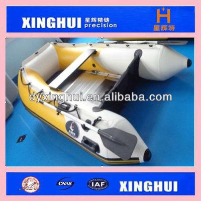 pvc Aluminium floor inflatable boat