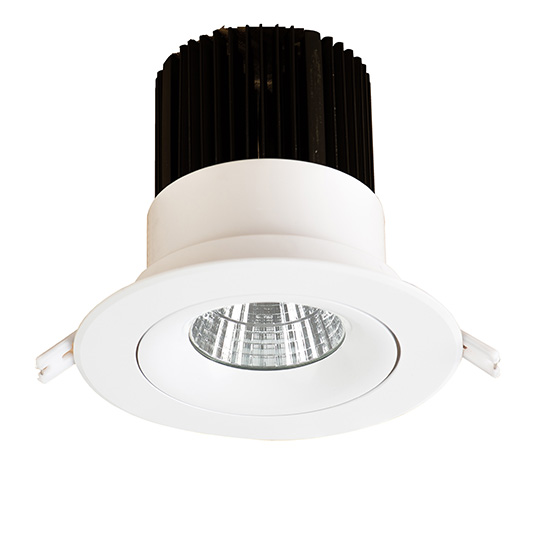 latest 25w cree cob 4 inch recessed downlight china led downlight. Black Bedroom Furniture Sets. Home Design Ideas