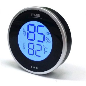 Round Digital Thermometer and Hygrometer