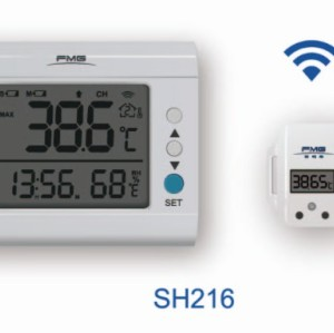 Wireless 8-Channel Thermometer