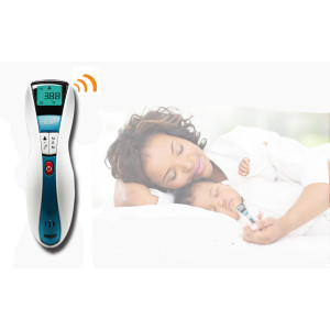 Digital Medical Forehead Infrared Thermometer Suitable for Baby,Infants,Adults,Object and Ambient