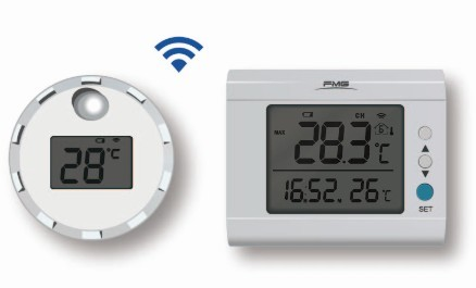 Wireless Floating Pool Thermometer