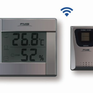 Wireless Temperature and Humidity Meter