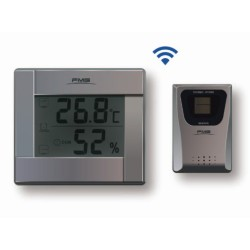 Wireless Thermometer and Hygrometer LCD  display data of the 3 transmitters for Plants