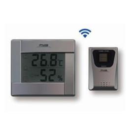 三路温湿度测量显示无线大屏幕温湿度计农业大棚花卉环境温湿度测量