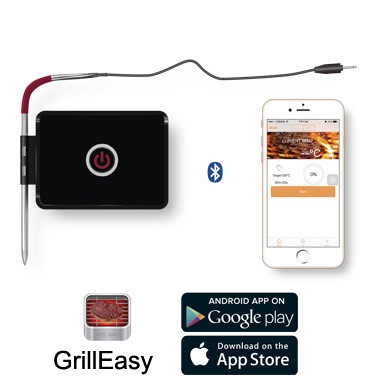 Wireless Remote Digital Cooking Food Meat Thermometer with 2 Probe for Smoker Grill BBQ Thermometer