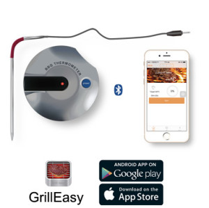 Bluetooth Grill Oven Thermometer
