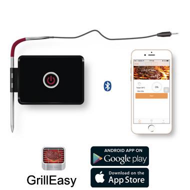 智能手机无线控制 食品烹饪温度蓝牙通讯烧烤 温度计