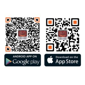 蓝牙烤肉温度计 LCD液晶显示或app两用 厨房烤箱食物监测温度计