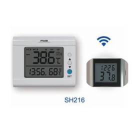 无线蓝牙双频双模多点温度测量传输数字温度计温度记录手机监视和下载存储数据机房仓库博物馆环境温度测量