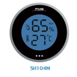 Digital Thermometer and Hygrometer for Cigars Humidor,pharmacy,lab Temperature and Humidity black