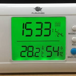 Wireless  Bluetooth Thermometer with 8-channels with app for Restaurant Pharmacy, museum,hotel