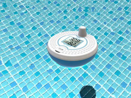 测量鱼缸水池浴缸浴室泳池水温温度计电子数字显示密封防水浮于水面