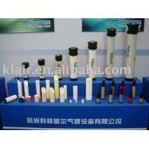filtro de aire comprimido con ventana eléctrica