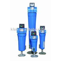 China filtro de aire comprimido 0.01micron0.003ppm 0.1 micrones