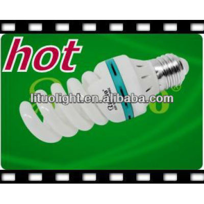 High quality T5 17mm 65w full spiral energy saving lamp CE