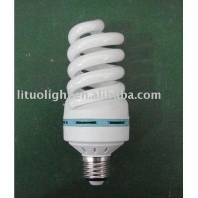 full spiral fluorescent light fixture cover/energy saver