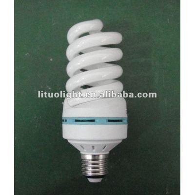 65lm/w 8000H 100% tricolor 20W full Spiral energy saving light